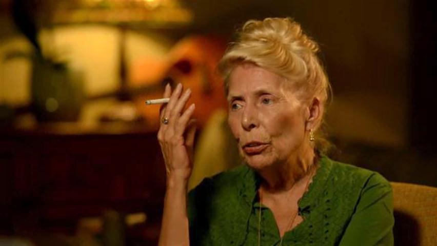Joni Mitchell smokes one.