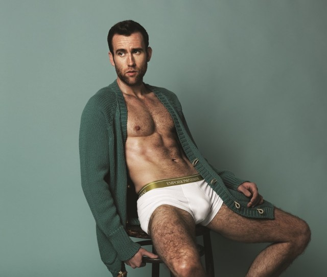 Matthew Lewis Poses For Attitude
