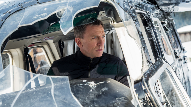 Daniel Craig stars as James Bond in Metro-Goldwyn-Mayer Pictures/Columbia Pictures/EON Productions' action adventure SPECTRE.