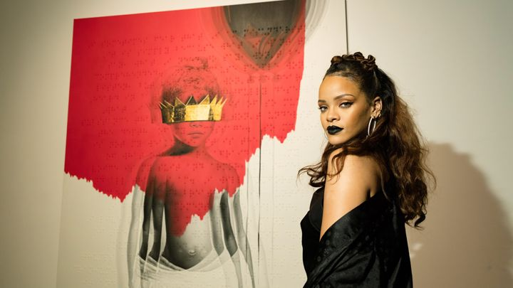Rihanna has debuted her long-awaited eighth album 'Anti' on streaming site Tidal Christopher Polk/Getty