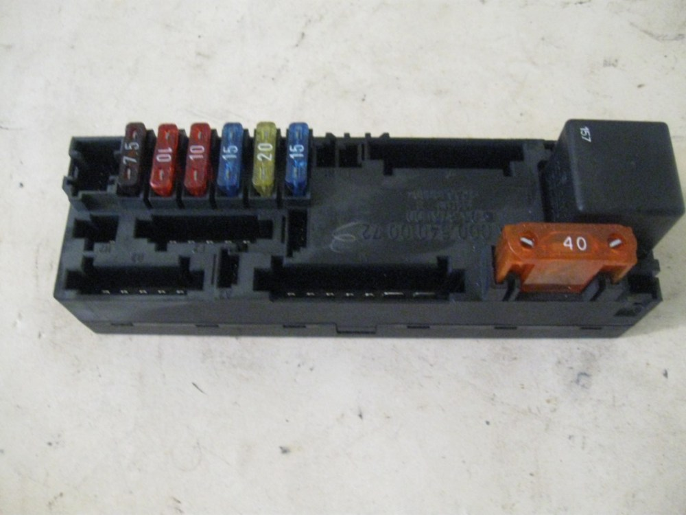 medium resolution of overload protection relay fuse box mercedes w210 0005400072