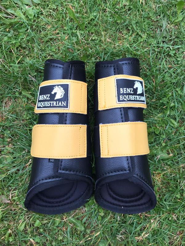 Neoprene Brushing Boots - Yellow
