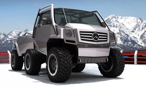 Mercedes-Benz Hexawheel Concept
