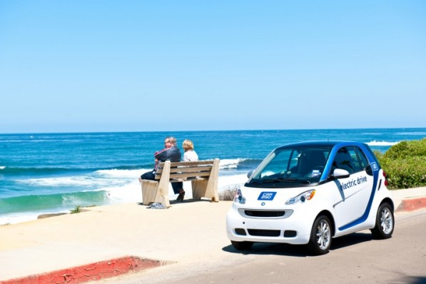 smart fortwo f34 ns 71411 717 597x398 Car2go To Provide 300 Smart EVs In San Diego