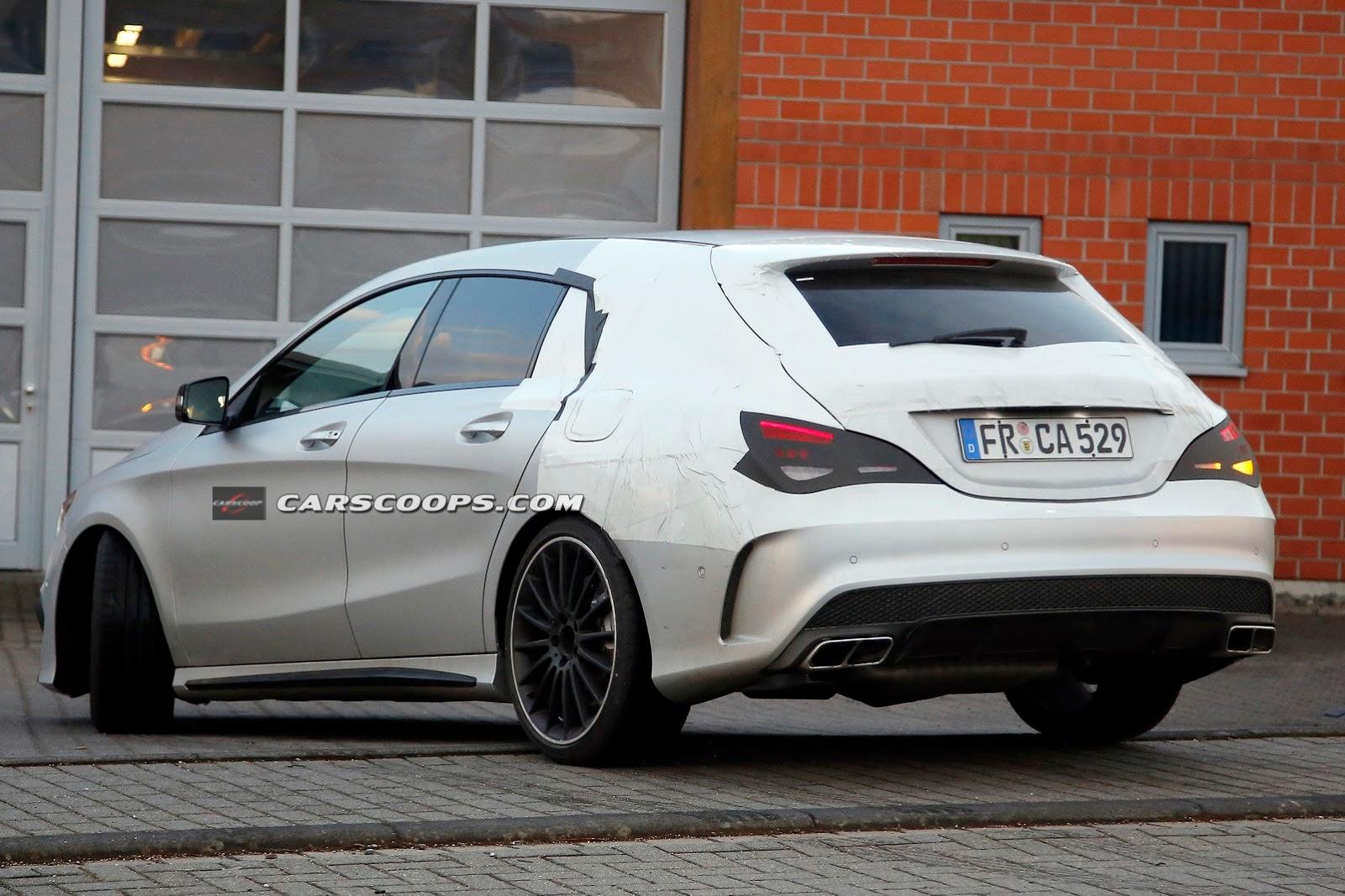 Mercedes Cla 45 Amg Shooting Brake 8