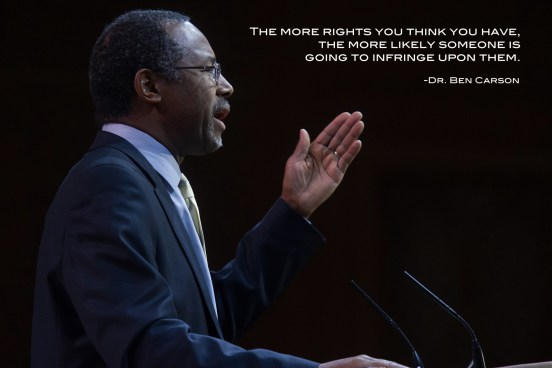 NATIONAL HARBOR, MD - MARCH 8, 2014: Neurosurgeon and author Ben Carson speaks at the Conservative P