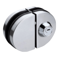 Buy Glass Door lock Stainless Steel Finish Online in India ...