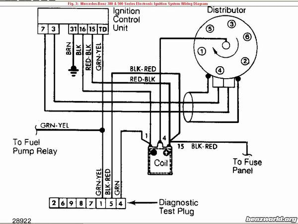 Mercede Benz Ignition Wiring Diagram