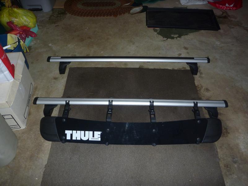 thule roof rack w fairing for 08 c