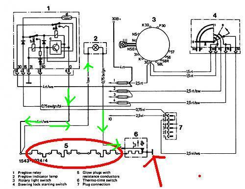 Mercedes Sprinter Glow Plug Wiring Diagram