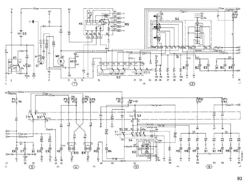 wiring diagram horn relay starfish reproductive system w460 speedometer - mercedes-benz forum