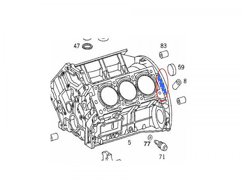Mercedes find engine number