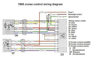 R107 500SL Cruise control actuator removal  MercedesBenz