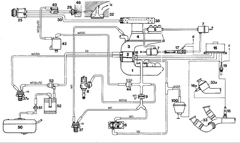 mercedes benz w124 230e wiring diagram of tibia stress fracture 107 vacuum diagrams - page 3 mercedes-benz forum