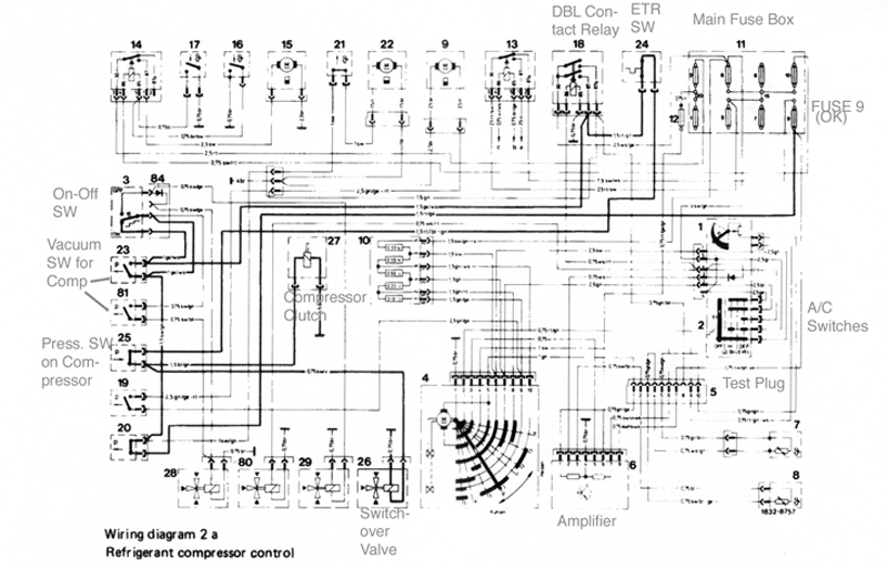 1973 Mercedes 450sl Fuel Injection Wiring Schematic : 51