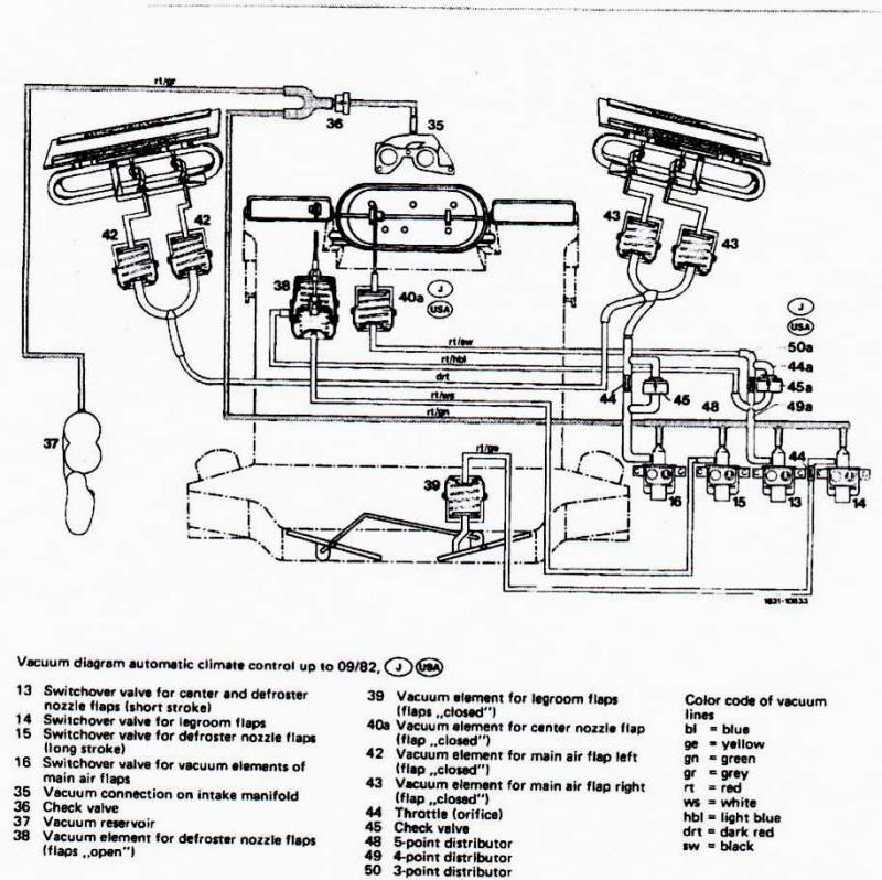 Mercedes 300d Vacuum System Diagram, Mercedes, Free Engine
