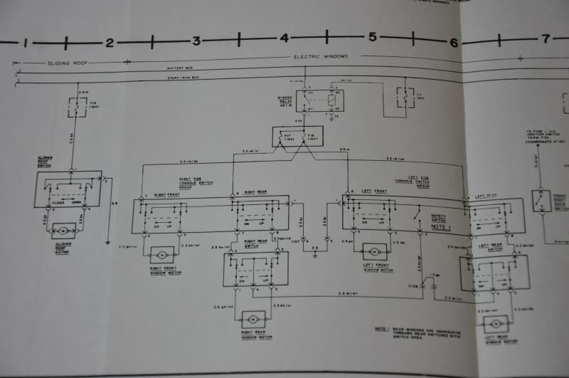 mercedes wiring diagrams i need a diagram for elec windows of '73 350 slc - mercedes-benz forum