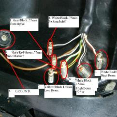 Garage Wiring Diagram Color Abbreviations 560sl. Headlight Plug. Does Anyone Know The Layout? - Page 5 Mercedes-benz Forum