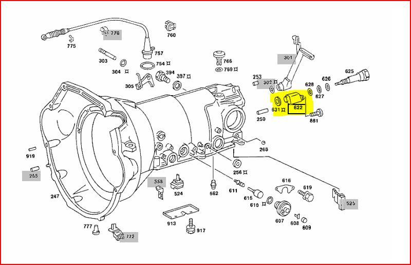 Mercedes 6 Speed Manual Transmission