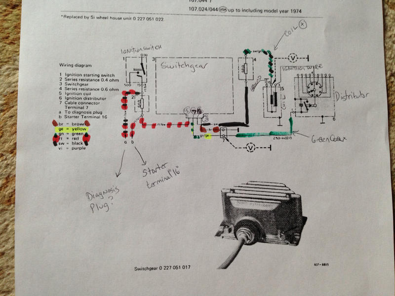 wiring diagram for ignition coil with points dodge grand caravan parts ot: transistorized troubleshooting - mercedes-benz forum