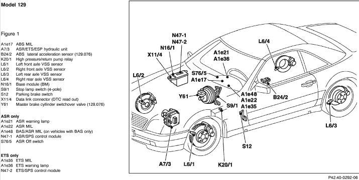 wiring diagram v12 mercedes