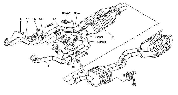 SL600 Hi Flow Cats and Magnaflow Exhaust Upgrade