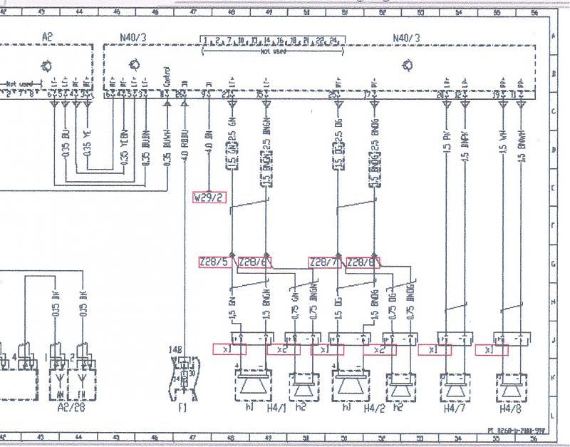 speaker head unit wiring harness