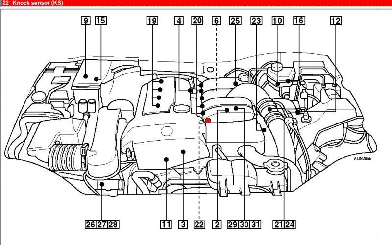 Bosch® Mercedes Slk Class 2012 Map Sensor