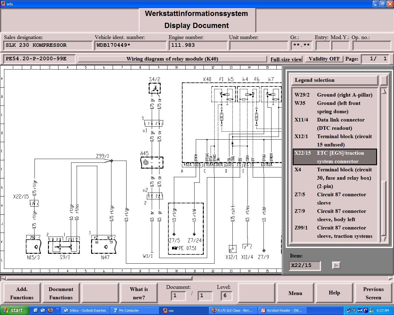 11 Wrx Ecu Wiring Diagram K40 Relay Circuit And Associated Mercedes Benz Forum