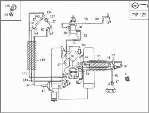 Vacuum hose help needed  92 500SL (119960)  Mercedes
