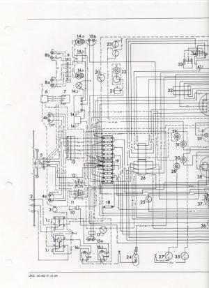 Wiring diagram or color breakdown 1970 406  MercedesBenz