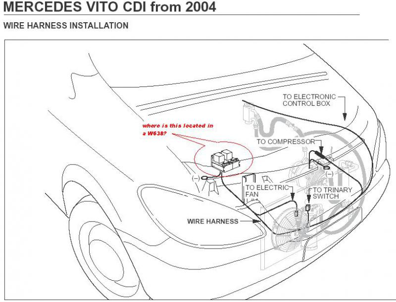 Mercedes Vito W639 Fuse Box Location : 36 Wiring Diagram