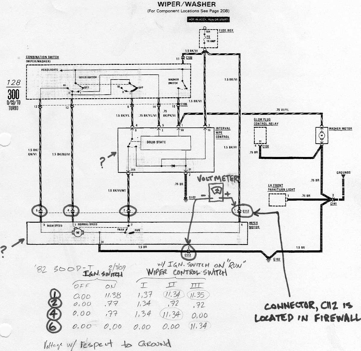 [WRG-6981] Mercedes Benz W123 Wiring Diagram