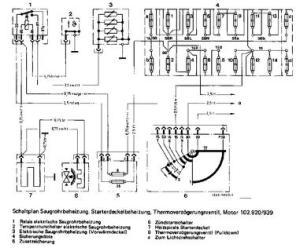 M102920 Engine (20 Carburetor) Sensor Indentification