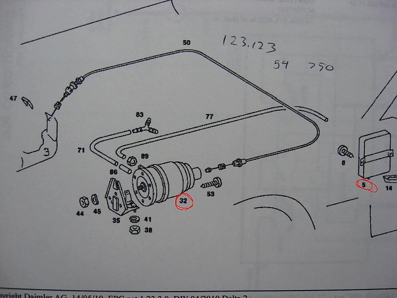 Carrera 32 Cruise Control Vacuum Question