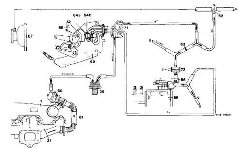 1985 Mercedes W123 Vacuum Diagram. Mercedes. Auto Wiring