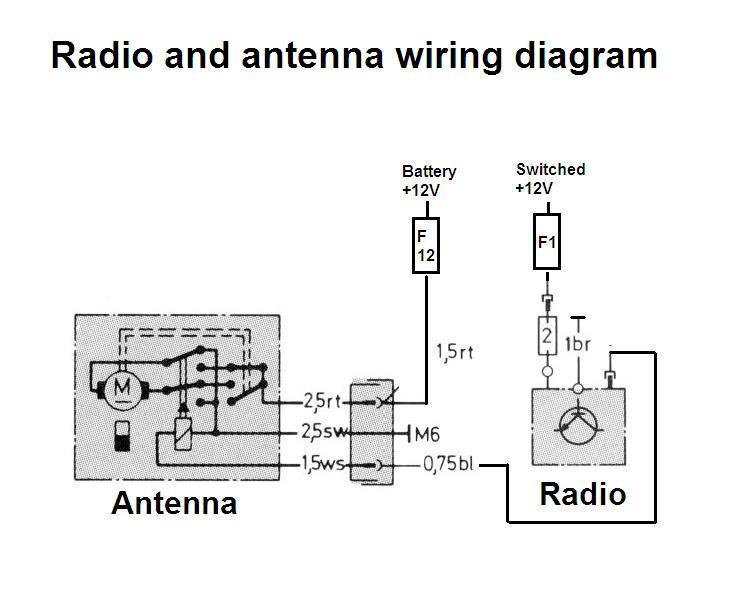 1989 Corvette Fuse Box Diagram Power Antenna Trigger Wire Mercedes Benz Forum