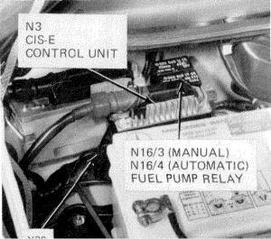 1989 300E Fuel Pump Relay  MercedesBenz Forum
