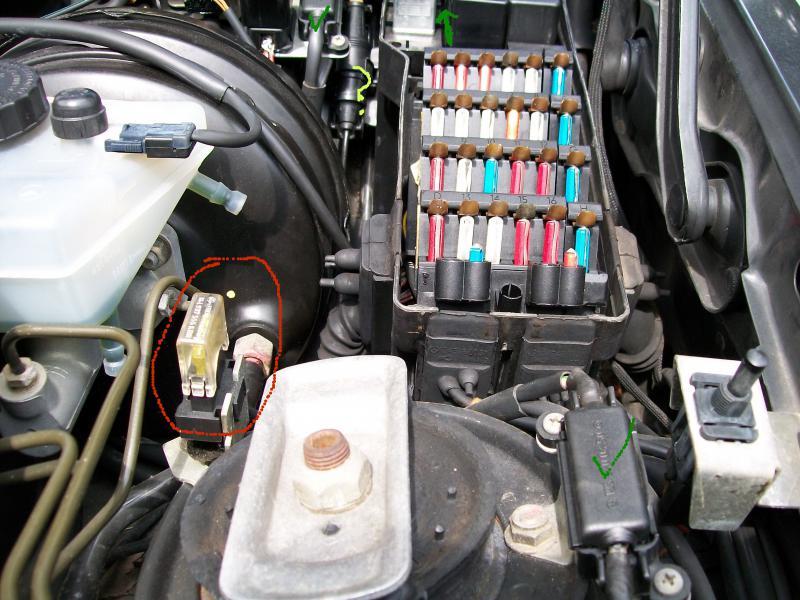 1996 Honda Accord Fuse Box Diagram Air Conditioner Hot Compressor Aux Fan Relay Not