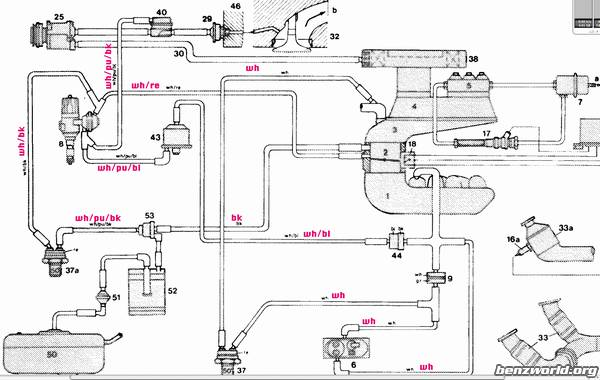 1974 vw engine diagram wiring for 150cc scooter missing: part # 29 in vacuum diagrams? - mercedes-benz forum