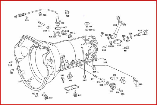 Mercedes valve diagram