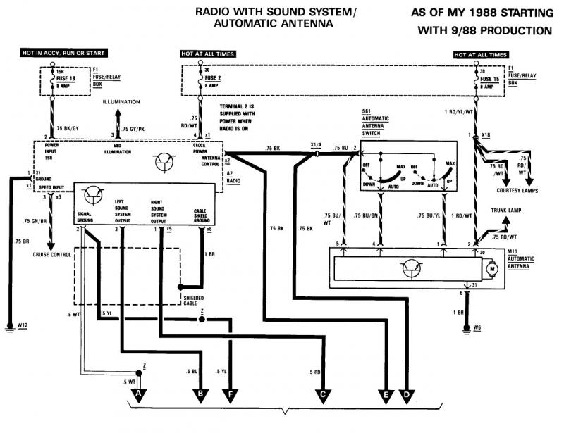 2011 Camry Wiring Diagram 1989 300sel Audio System Mercedes Benz Forum