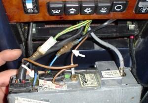 1984 500SEL Power Antenna Wiring with Becker 611 HU