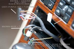 1991 w126 Stereo Install  MercedesBenz Forum