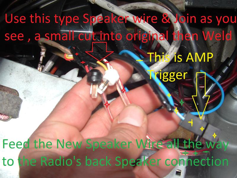 holden rodeo speaker wiring diagram 2000 dodge caravan radio aftermarket installation thread w140 s 91 93 mercedes benz click image for larger version name dscf0001 jpg views 3117 size 79 6