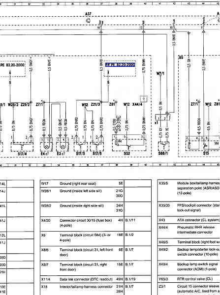 mercedes benz ignition wiring diagram