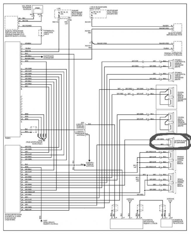 citroen stereo wiring diagram