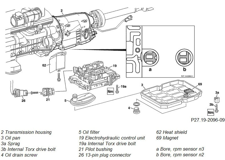 Need help to locate a oring or seal on the tranny