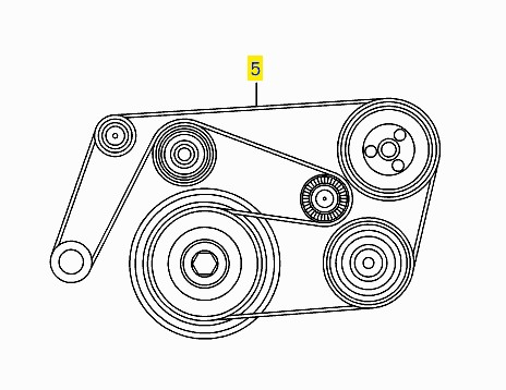 Mercedes Ml320 Serpentine Belt Diagram, Mercedes, Free