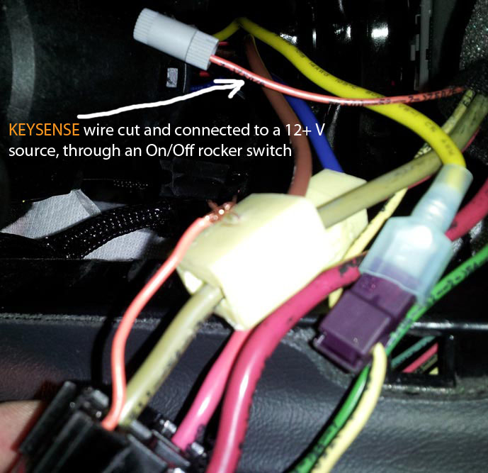 ford starter wiring diagram deh p3700mp remote start, push start and keyless entry install write up / diy - mercedes-benz forum